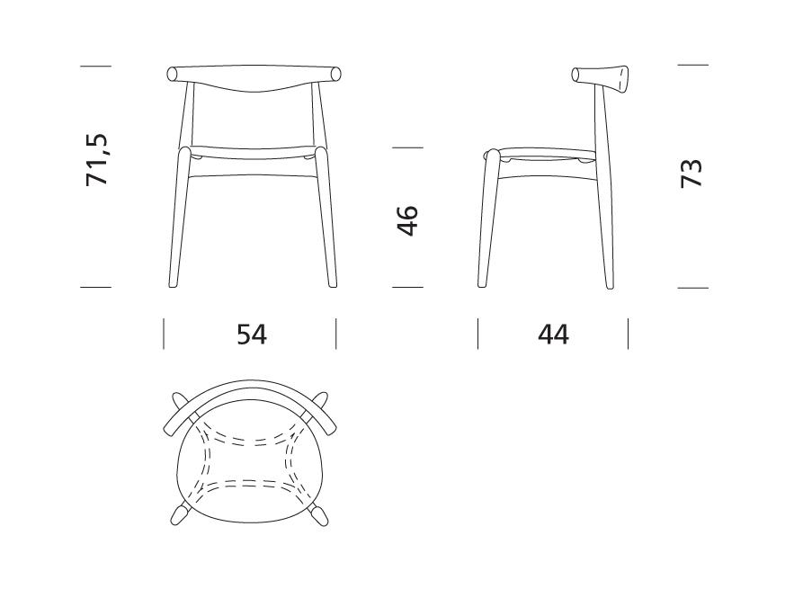 sedie in dwg idee per la casa